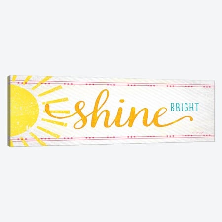Shine Canvas Print #PUG32} by Jennifer Pugh Canvas Art