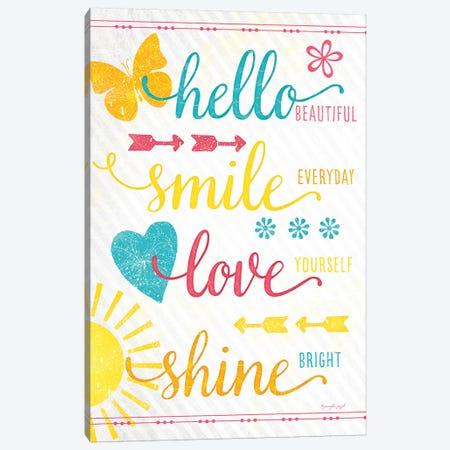 Shine Bright Canvas Print #PUG33} by Jennifer Pugh Canvas Artwork