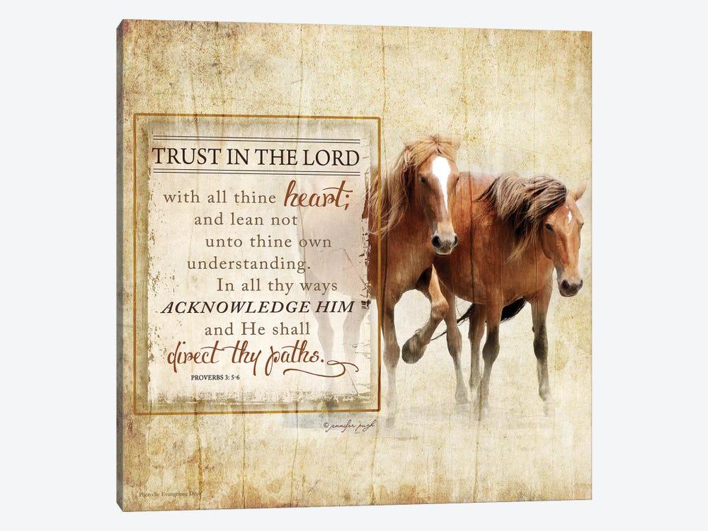 Trust In The Lord by Jennifer Pugh 1-piece Art Print