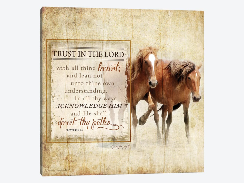 Trust In The Lord 1-piece Art Print