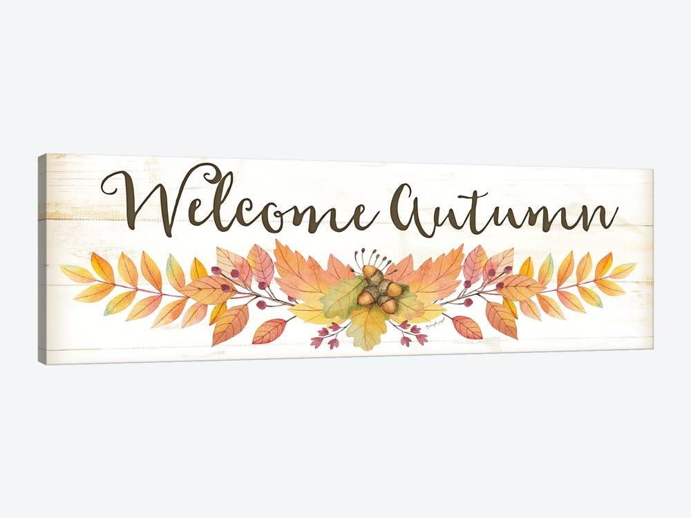 Welcome Autumn by Jennifer Pugh 1-piece Canvas Wall Art