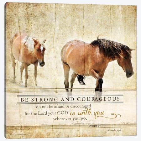 Be Strong Canvas Print #PUG4} by Jennifer Pugh Canvas Art Print