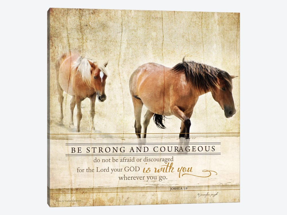 Be Strong by Jennifer Pugh 1-piece Art Print