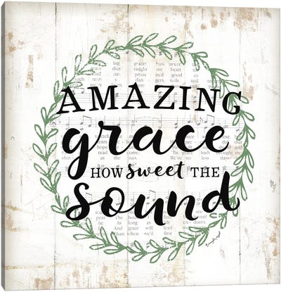 Amazing Grace II Canvas Art Print