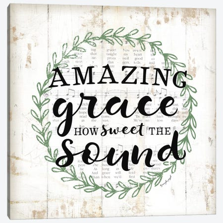 Amazing Grace II Canvas Print #PUG51} by Jennifer Pugh Canvas Artwork
