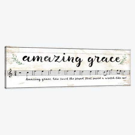 Amazing Grace III Canvas Print #PUG52} by Jennifer Pugh Canvas Wall Art