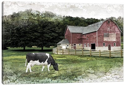 Cow I Canvas Art Print