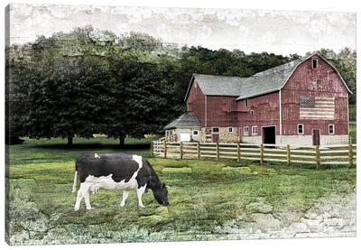 Cow I Canvas Art Print