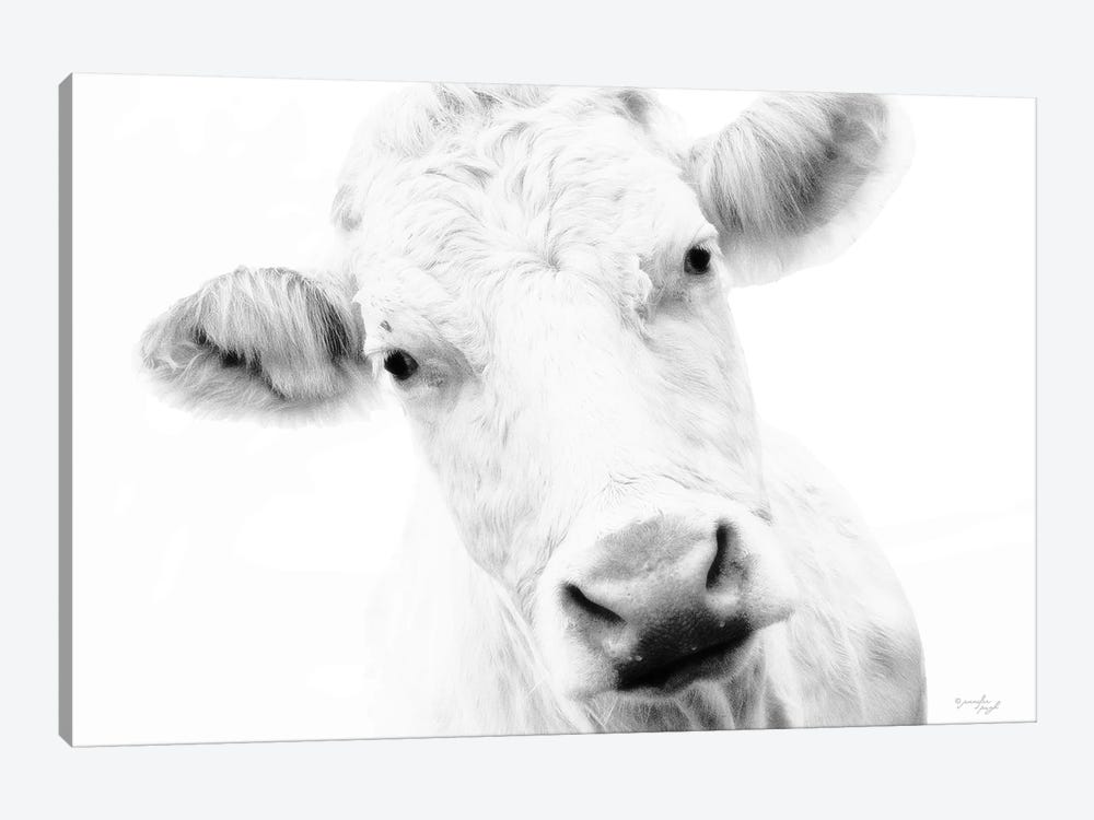 Cow IV by Jennifer Pugh 1-piece Canvas Art