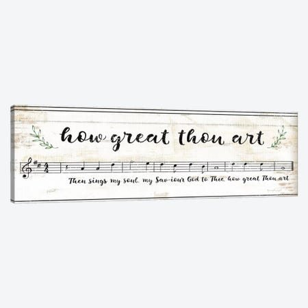 How Great Thou Art III Canvas Print #PUG69} by Jennifer Pugh Canvas Print