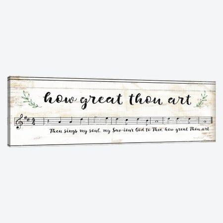 How Great Thou Art III 3-Piece Canvas #PUG69} by Jennifer Pugh Canvas Print