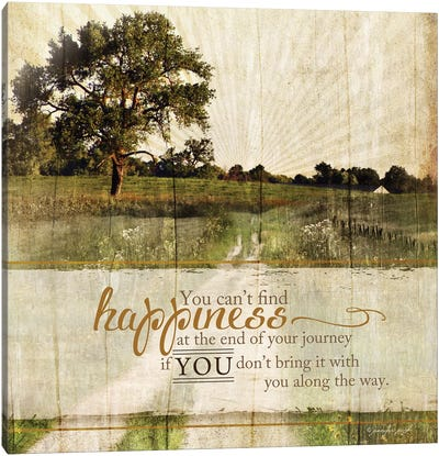 Bring Happiness Canvas Art Print