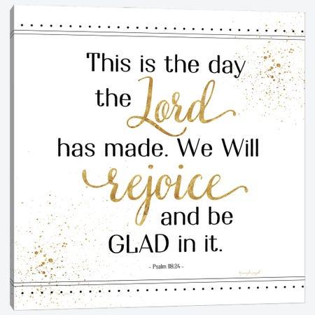 Rejoice And Be Glad Canvas Print #PUG83} by Jennifer Pugh Canvas Art Print
