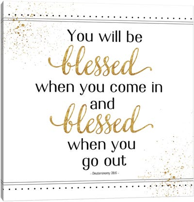 You Will Be Blessed Canvas Art Print