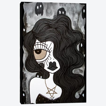 Ghost World Canvas Print #PUP13} by Little Punk People Canvas Print
