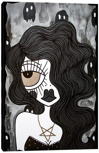 Ghost World Canvas Art Print