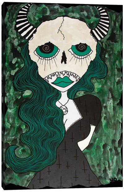 Green Hell Canvas Art Print