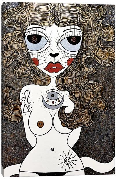 Leo Canvas Art Print