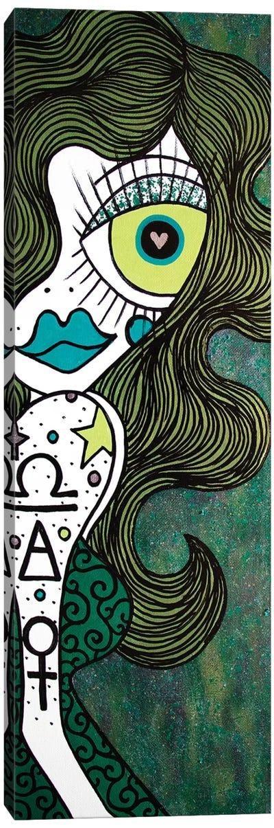 Libra Canvas Art Print