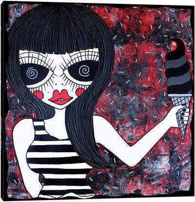 Lick My Twisty Canvas Art Print