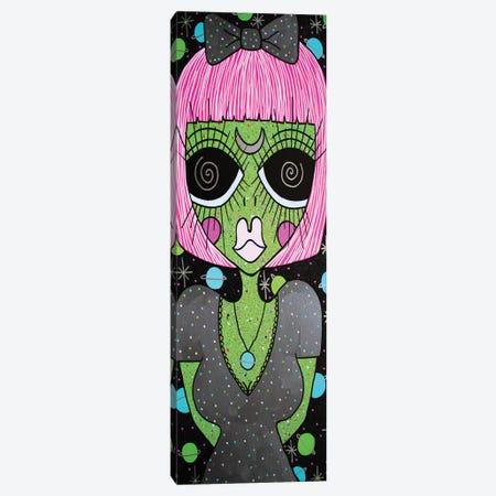 Meet Me On Mars Canvas Print #PUP25} by Little Punk People Art Print