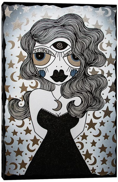 Moon Goddess Canvas Art Print