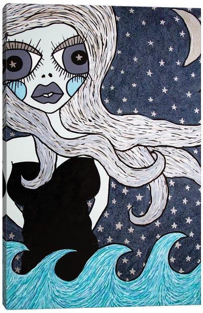 Sail To The Moon Canvas Art Print