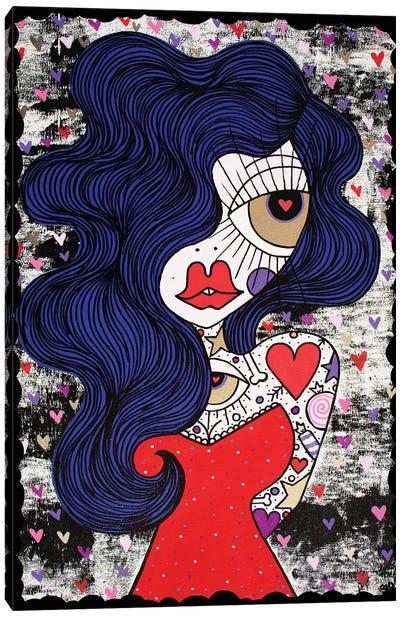 All Of My Love Canvas Art Print