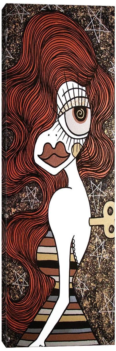 Wind Me Up Canvas Art Print