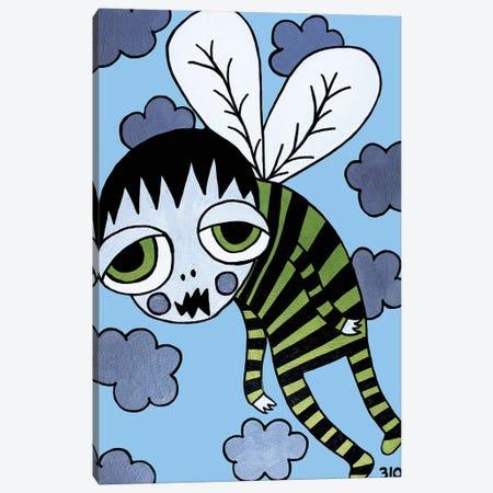 Zed Canvas Print #PUP46} by Little Punk People Canvas Art Print