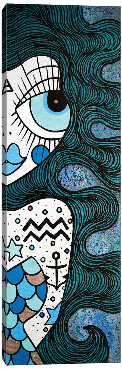 Aquarius Canvas Art Print