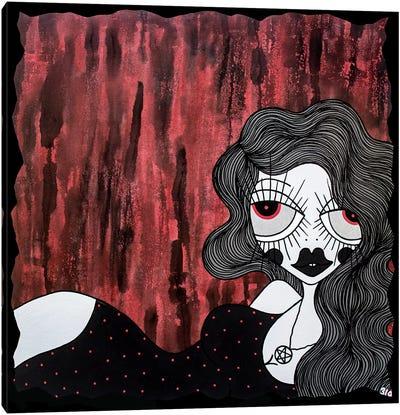Blood Red Canvas Art Print