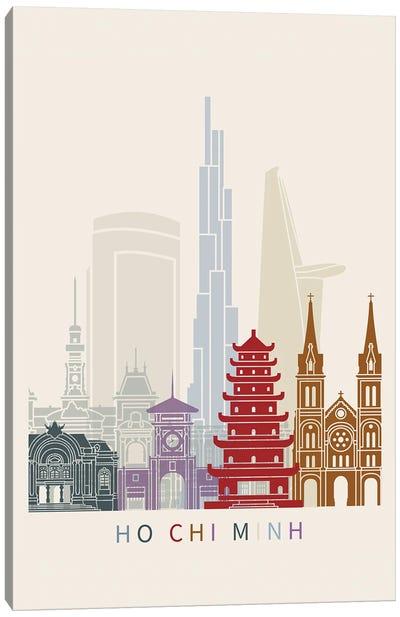 Ho Chi Minh Skyline Poster Canvas Art Print