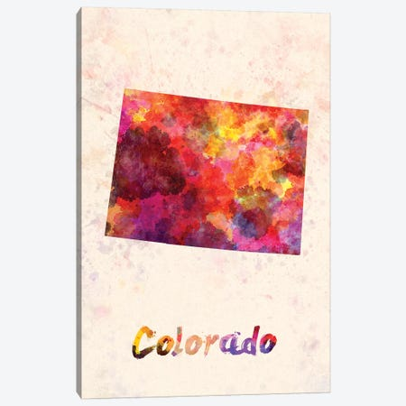Colorado Canvas Print #PUR150} by Paul Rommer Canvas Wall Art