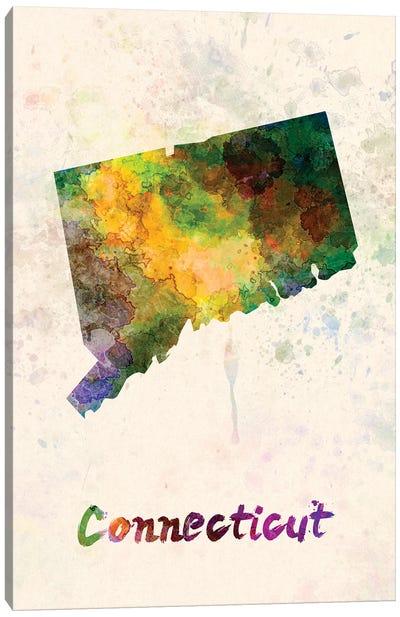 Connecticut Canvas Art Print