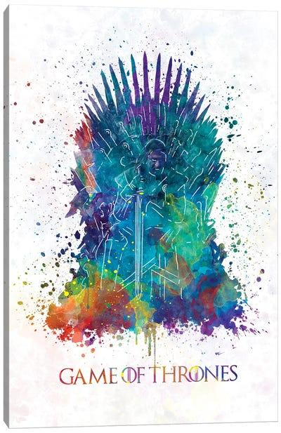 Game Of Thrones GOT Throne Canvas Art Print
