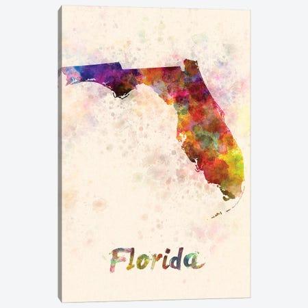 Florida Canvas Print #PUR250} by Paul Rommer Canvas Art Print
