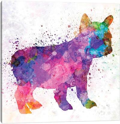 French Bulldog 02 Canvas Art Print
