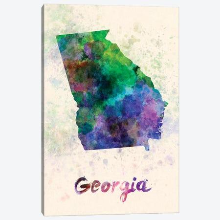 Georgia Canvas Print #PUR274} by Paul Rommer Canvas Art