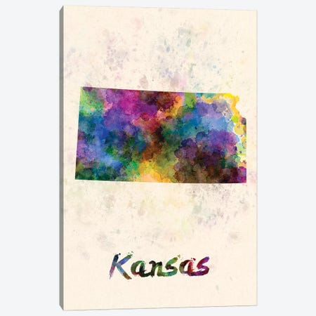 Kansas Canvas Print #PUR390} by Paul Rommer Canvas Wall Art