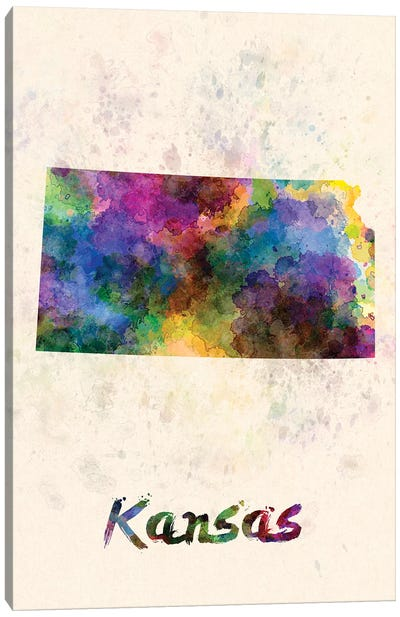 Kansas Canvas Art Print