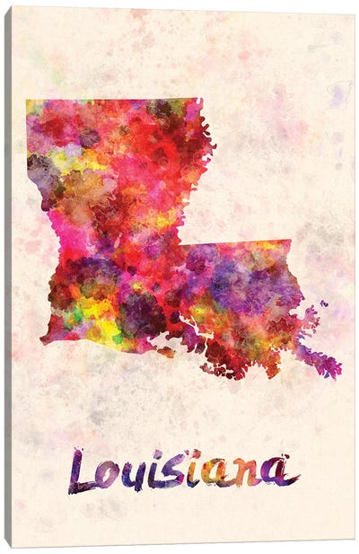 Louisiana Canvas Art Print