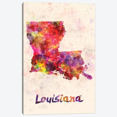Louisiana Canvas Print #PUR432} by Paul Rommer Canvas Print