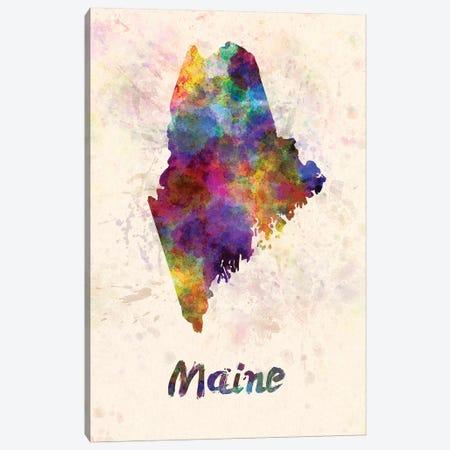 Maine Canvas Print #PUR438} by Paul Rommer Art Print