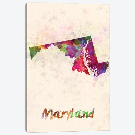 Maryland 3-Piece Canvas #PUR496} by Paul Rommer Canvas Wall Art