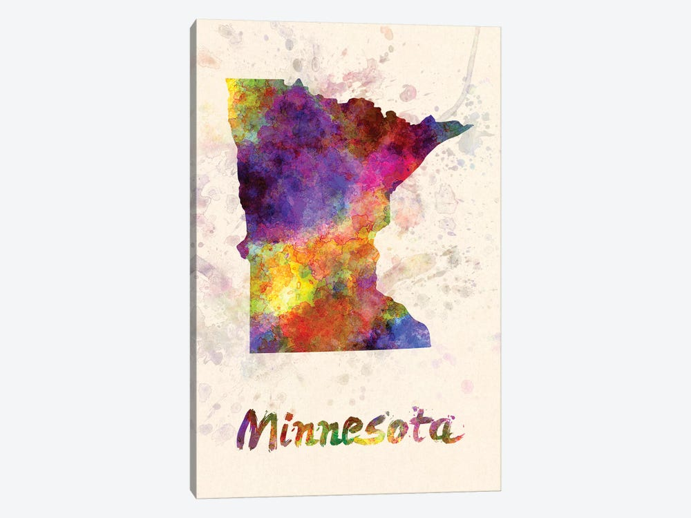 Minnesota by Paul Rommer 1-piece Canvas Print