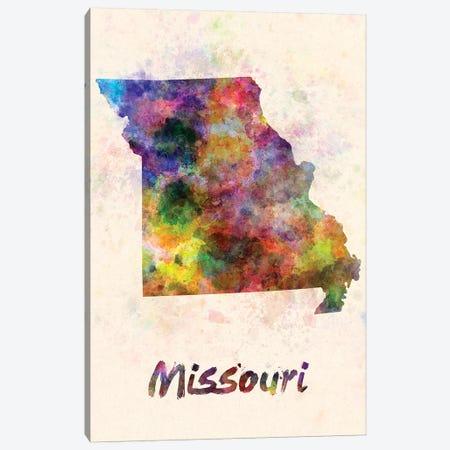 Missouri Canvas Print #PUR515} by Paul Rommer Art Print
