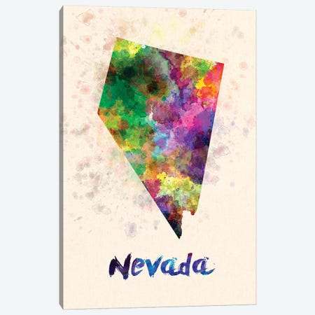 Nevada Canvas Print #PUR527} by Paul Rommer Canvas Artwork