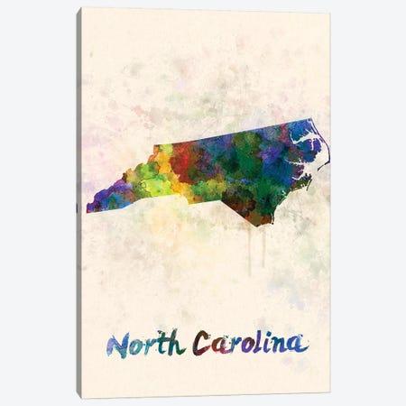 North Carolina Canvas Print #PUR542} by Paul Rommer Canvas Art Print
