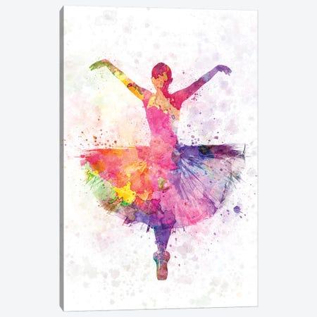 Ballerina Dancing I Canvas Print #PUR754} by Paul Rommer Canvas Art Print